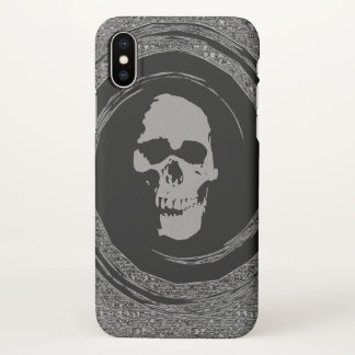skull in the whirl case