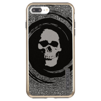 skull in the whirl incipio DualPro shine iPhone 8 plus/7 plus case
