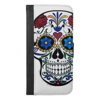 Skull iPhone 6/6s Plus Wallet Case