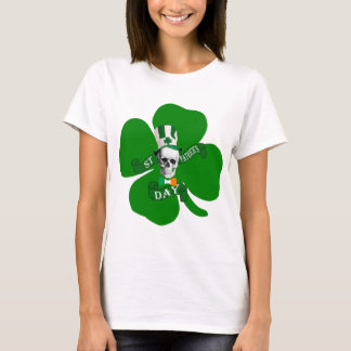 Skull Irish St Patricks T-Shirt