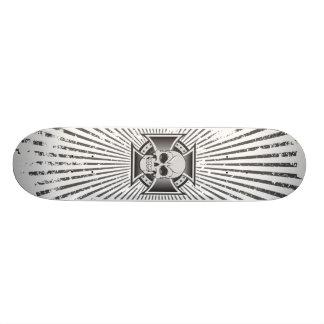 Skull & Iron Cross: Custom Skateboard
