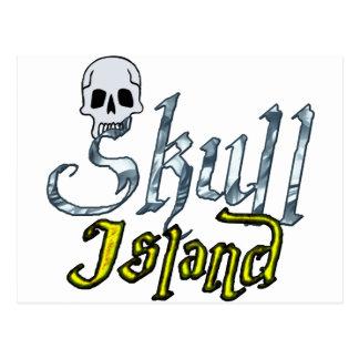 Skull Island Postcard