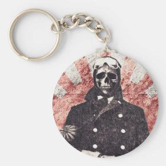 Skull kamikaze keychain