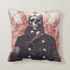 Skull kamikaze throw pillow