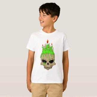 Skull Kids' Hanes TAGLESS® T-Shirt, White T-Shirt