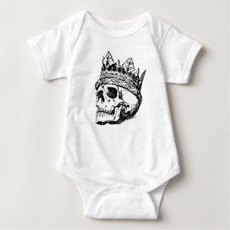 Skull King Baby Bodysuit