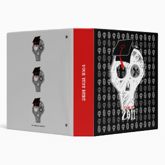 Skull Kiss Hug Graduation Class of 2011 Binder 7