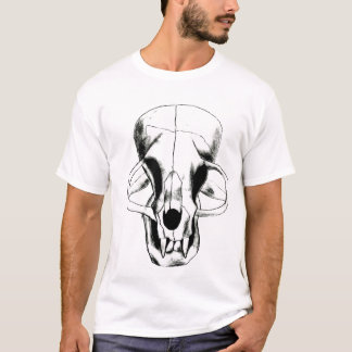 skull kitty by erin harvey T-Shirt