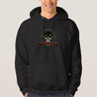 Skull Leprachaun Hooded Sweat Hoodie