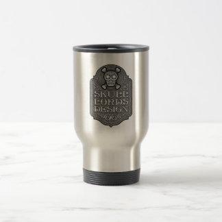 Skull Lords Design Logo Travel Mug