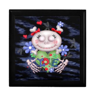 SKULL LOVE 3 CUTE GIFT BOX LARGE