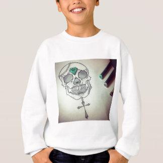 Skull marker logo sweatshirt