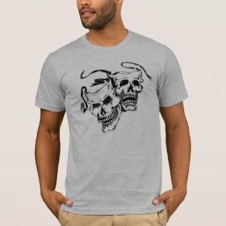 skull mask comedy & tragedy T-Shirt