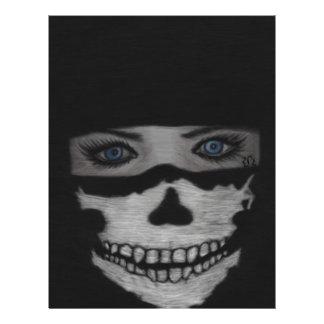 Skull Mask Letterhead