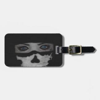 Skull Mask Luggage Tag