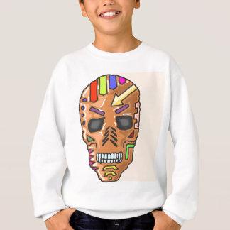 Skull Mask Painted Sketch Sweatshirt