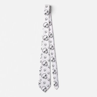 skull Mens Clothing Neck Tie