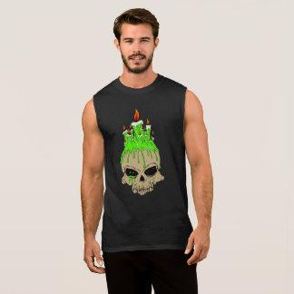 Skull Men's Ultra Cotton Sleeveless T-Shirt