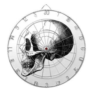 Skull Metal Cage Dartboard