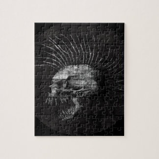 Skull Mohawk Jigsaw Puzzle