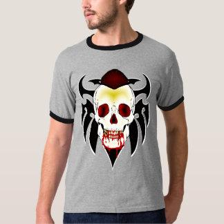 Skull Mohawk Vampire Shirt