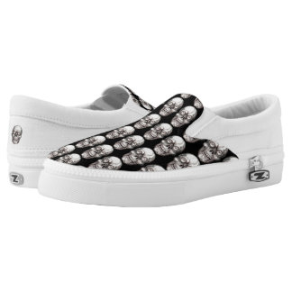SKULL MULTI PRINT Slip-On SNEAKERS