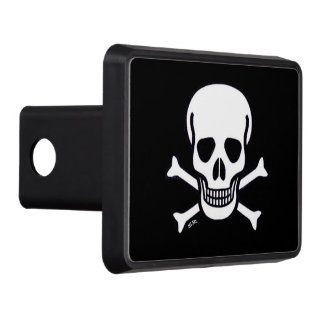 Skull n Bones Black hitch cover receiver