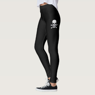 Skull n Bones black leggings