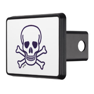 Skull n Bones hitch cover receiver