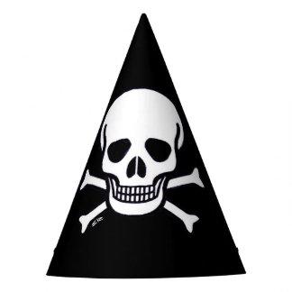 Skull n Bones party hat