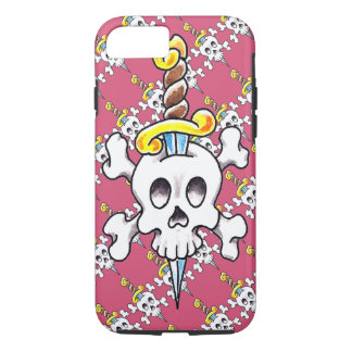 Skull-n-Dagger iPhone 7, Tough Case
