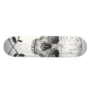 Skull N' Roses Skate Deck