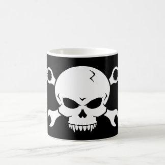 Skull 'n' Tools - Screw Pirate 2 (white) Mugs