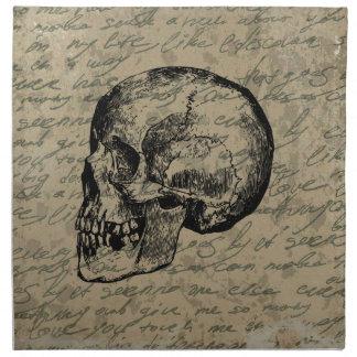 Skull Napkin