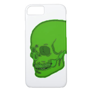 Skull neon green! iPhone 8/7 case