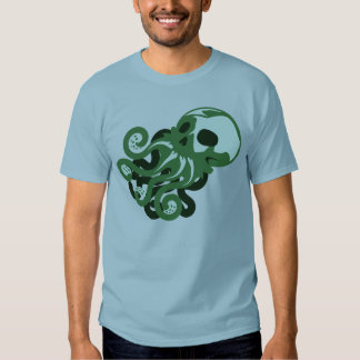 Skull Octopus Tees