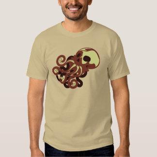 Skull Octopus Tshirts