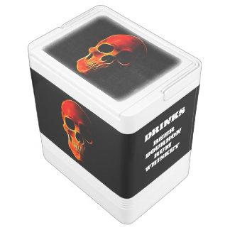 Skull of Flames Cooler