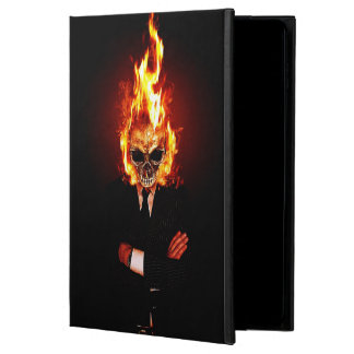 Skull on fire powis iPad air 2 case