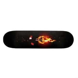 Skull one fire skate decks