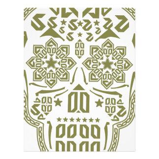Skull Ornament Letterhead