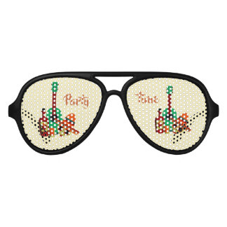 Skull party time sunglasses