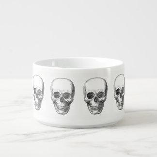 Skull Pattern Bowl Chili Bowl