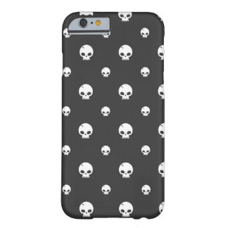 Skull Pattern iPhone 6/6s, Barely There Phone Case