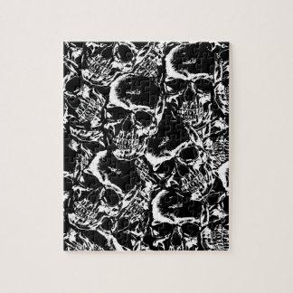 Skull pattern jigsaw puzzle