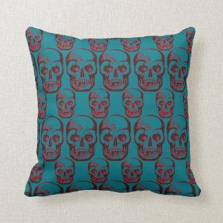 skull pattern oreiller