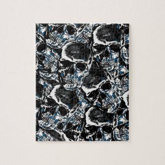 Skull pattern puzzles