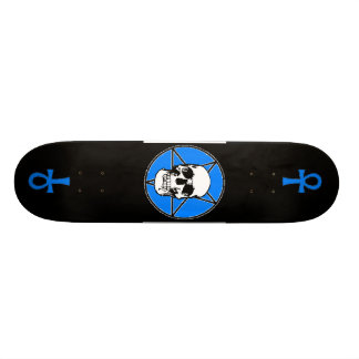 Skull Pentigram Skateboard