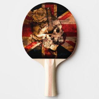 Skull Ping Pong Paddle