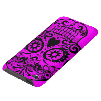 Skull pink 04 iPod touch cases